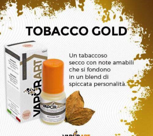 tobacco gold vaporart - tobacco gold Vaporart – Tobacco Gold Recensione tobacco gold Vaporart 500x445