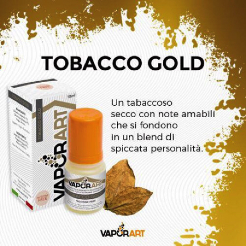 tobacco gold vaporart - tobacco gold Vaporart – Tobacco Gold Recensione tobacco gold Vaporart