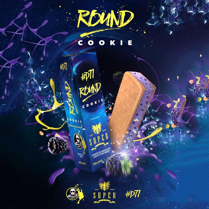 SUPER FLAVOR ROUND COOKIE super flavor round cookie SUPER FLAVOR ROUND COOKIE DANIELINO77 D77 50 ML MIX & VAPE Super Flavor Round Cookie Aroma 50ml Mix Danielino77 Liquido per Sigaretta Elettronica