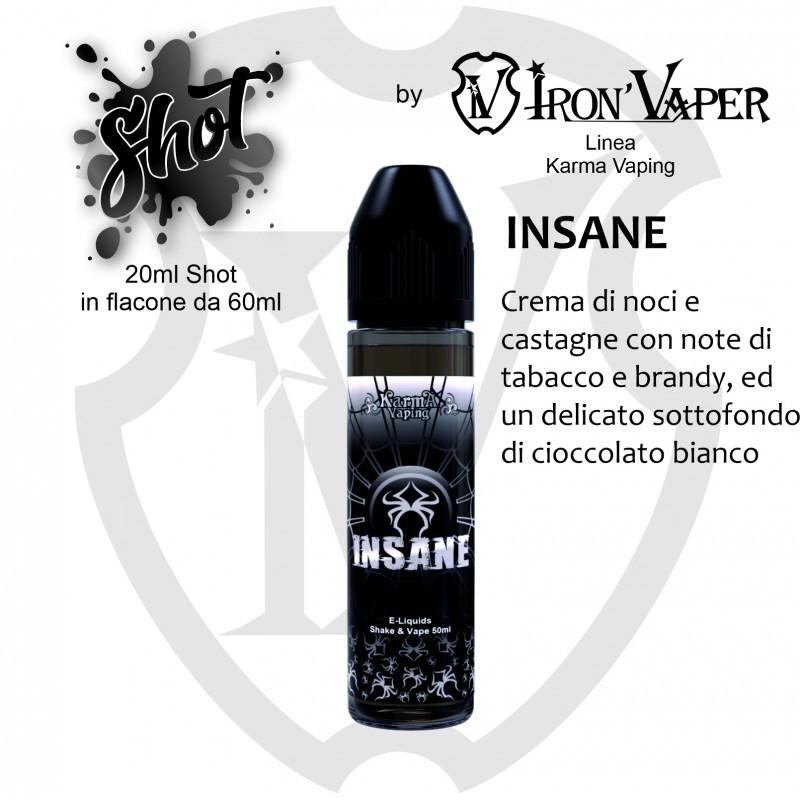 Iron Vaper Karma Vaping Insane Aroma 20 ml aromi istantanei karma vaping insane 20 ml karma vaping