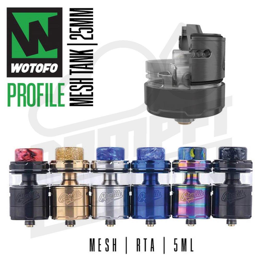 Wotofo Profile Unity RTA wotofo profile unity rta 5ml 25mm mesh verdampfer